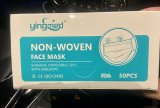 YINGMED YM-G005  Non Woven  ISO 13485 Surgical Face Mask