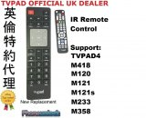 TVPAD Replacement Remote Control M418 M425