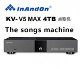 Inandout V5 MAX Karaoke Main unit machine 4TB with Touch Screen Monitor